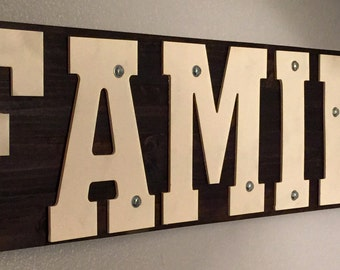Industrial Name Sign