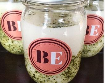Mojito Mint Candle Mason Jar