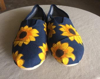 Sunflower Slip-on Canvas Shoes