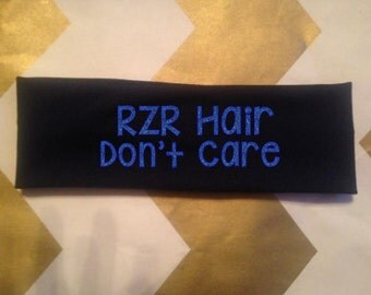 RZR hair don't care headband l Knit Headband l Polaris RZR headband