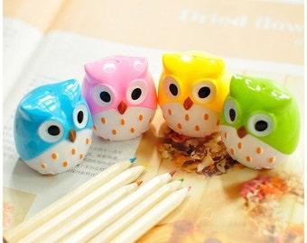 Cute Owl Sharpeners / Kawaii Owl Pencil Sharpeners / Cute Pencil Sharpeners / Cute Stationery / Kawaii Stationery / Cute School Supplies