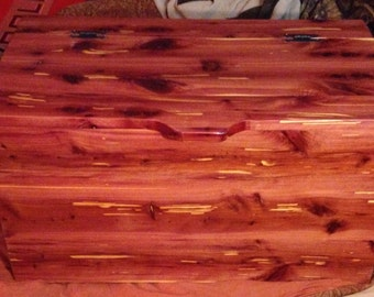 Handmade Eastern Red Cedar Chest