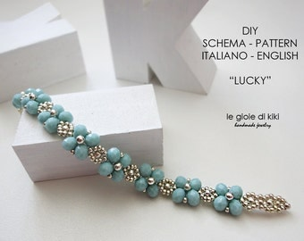 "DIY, schema bracciale "" Lucky"""