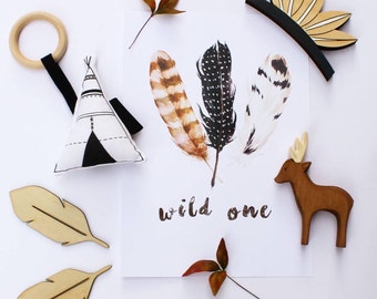 Wild One Print