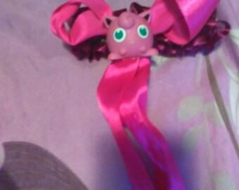 jigglypuff hair clip