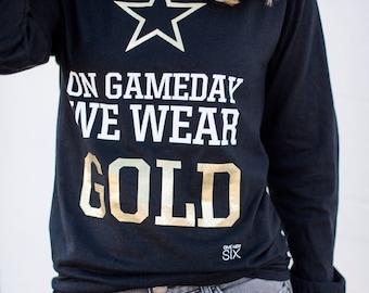 On Gameday We Wear Gold Vandy
