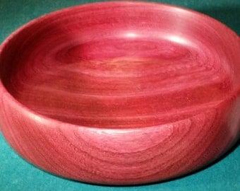 Purpleheart bowl