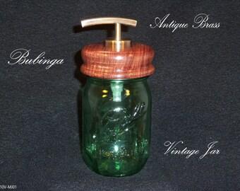 Dish and hand soap dispenser from mason jars