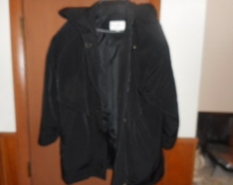 35% Mark Down  Women's Giorgio Morandi Coat With Hood Size S Very Nice