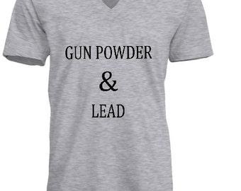 gunpowder & lead