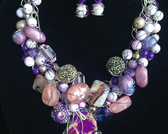 The Purple One II Necklace