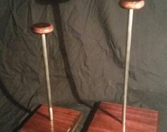 Set of 2 display stands