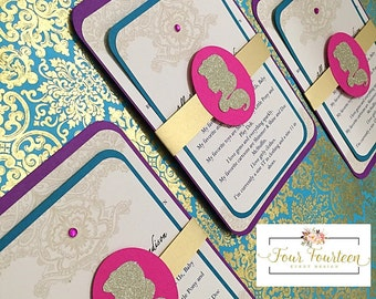 Princess Jasmine Invitations