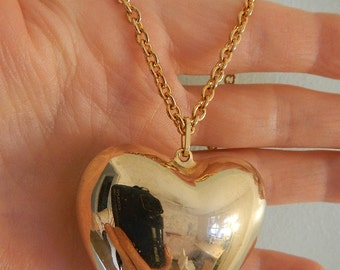 Heart Shape Necklace, Vintage.