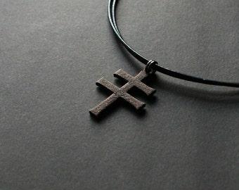 Duchy of Lithuania Cross - St.Stephens Cross - Medieval Cross Pendant