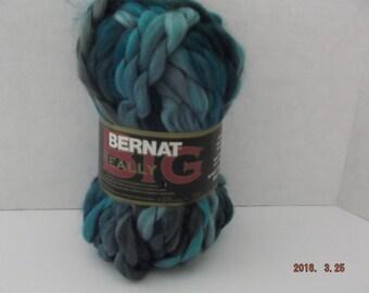"Bernat Really Big Yarn "" Nile "" #6 Super Bulky 80 grams ~ 27 Yards ~"