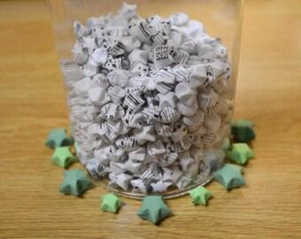 500 Origami Stars - [Sheet Music]
