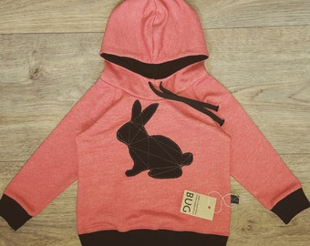 Hoodie with Bunny appliqué