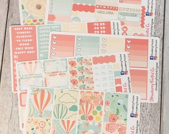 Fly Away With Me---- Weekly Planner Kit ---- {Includes 210+ Stickers}