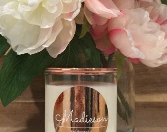 Additional Bridesmaid Gift Soy Candle - Style #2