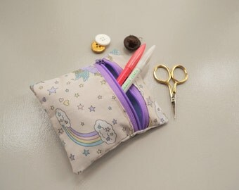 Unicorn and Rainbow Coin Pouch