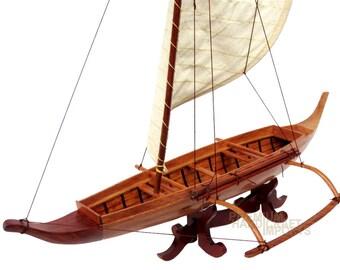 "25"" Traditional Hawaiian Canoe"