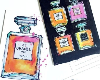 Chanel Postcard Set