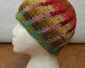 Women's Colorful Crochet Beanie
