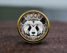 KungFu Panda / Vintage Bronze Dresser knobs cabinet Dresser Knobs pull  / Dresser Pull / Cabinet Knobs / Furniture Knobs
