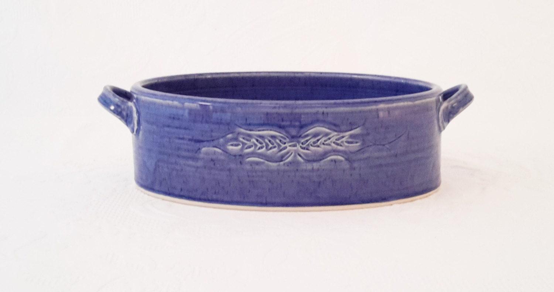 Ceramic Stoneware Baking : Oval baking dish pottery gratin ceramic