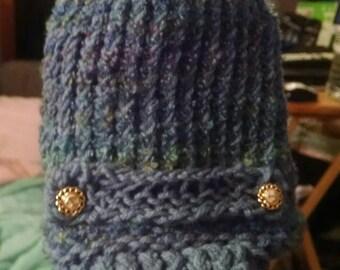 Handmade Knitted Baby?Toodler Cap