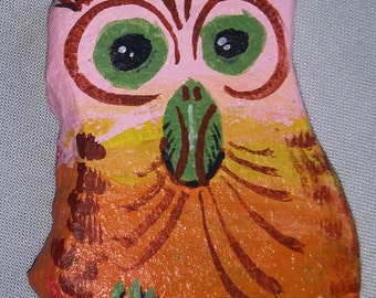 Pink Painted Owl