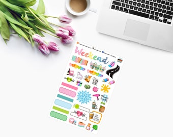 CHOCHO & MiMI SAMPLER Planner Stickers - CAM00217