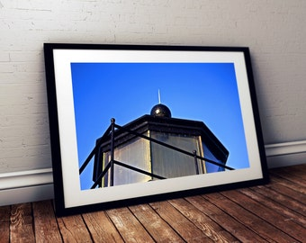 derby wharf light station, lighthouse, nautical, maritime, salem, massachusetts, new england, photography, fine art print