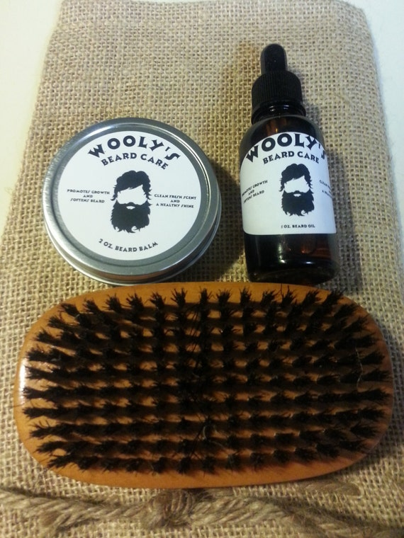 beard care grooming kit by woolysbeardcare on etsy. Black Bedroom Furniture Sets. Home Design Ideas
