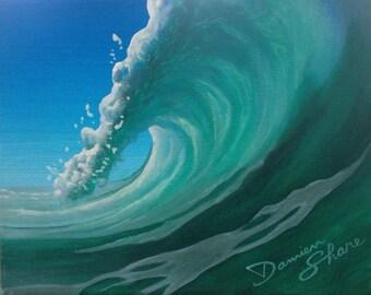 ocean art surf art wave painting