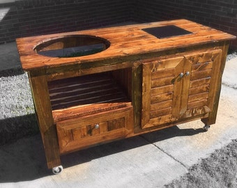 Custom Green Egg Table / Stand (Free Shipping For Some Areas)