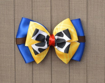 Disney Inspired Woody Hair Bow