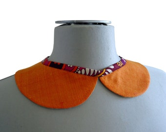 Removable Cheung Col silk orange