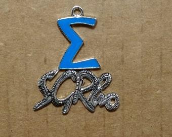 Sigma Gamma Rho Inspired SGRho Pendant