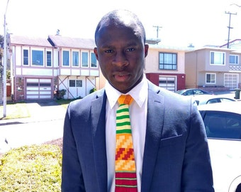 Men's Kente Tie, African tie