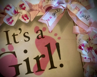 It's a GIRL 5x7 Photo Frame~SHADOWBOX