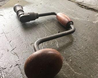 Antique Carpenter Hand Drill