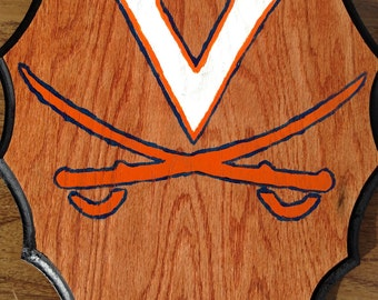 Virginia Cavaliers Wooden Wall Hang Plaque