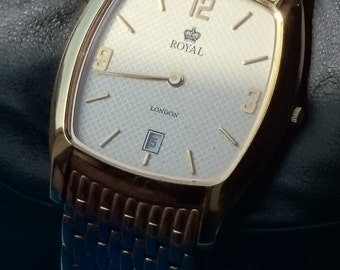Men's Watch Royal London 4354-M08 -  Working Order - New Battery