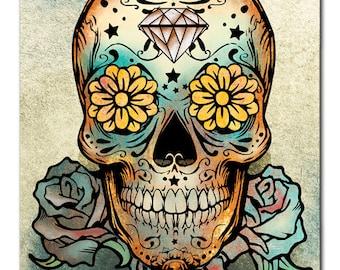 Day of the Dead - Sugar Skull