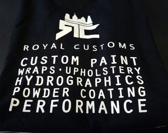 Royal Customs Black Tee