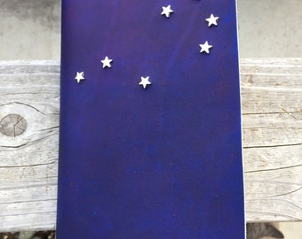 Constellation Leather Journal - Pleiades