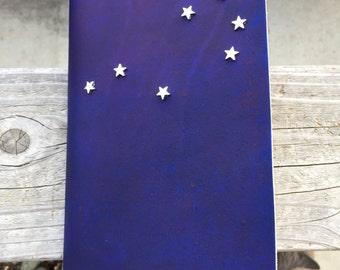 Constellation Leather Journal - Pleiades