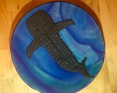 Whale shark dish / ring dish / trinket dish / key dish / jewelry dish / middle size
